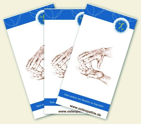 Praxisbroschüre: Osteopathie VOD