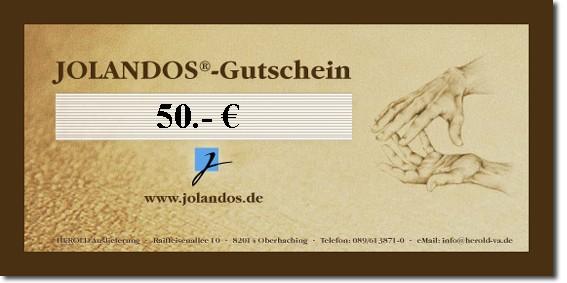 JOLANDOS - Gutschein 50 Euro