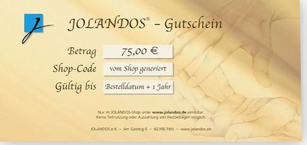 JOLANDOS - Gutschein 75 Euro