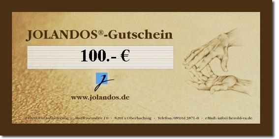 JOLANDOS - Gutschein 100 Euro