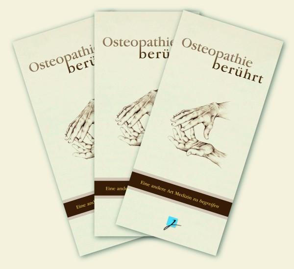 Praxisbroschüre: Osteopathie - neutral (braun-beige)
